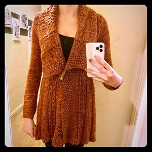 Anthropologie woven sweater